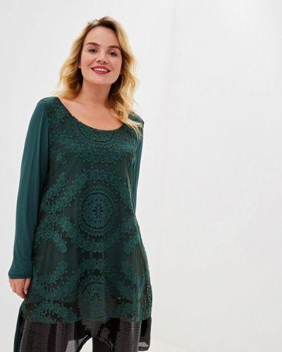 Туника итальянская зеленый Sophia