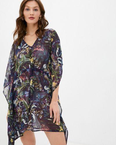 Пляжное фиолетовое пляжное платье Deseo