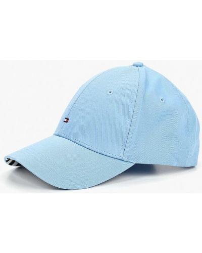 Голубая бейсболка Tommy Hilfiger