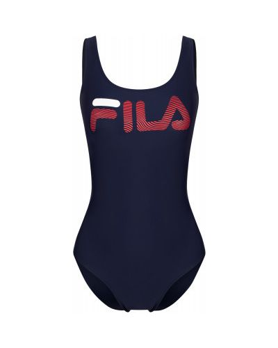 Спортивный купальник - синий Fila