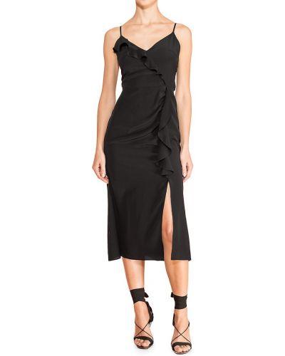 Черное платье с подкладкой Parker