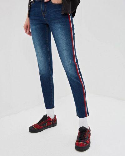 Прямые джинсы синие Sela