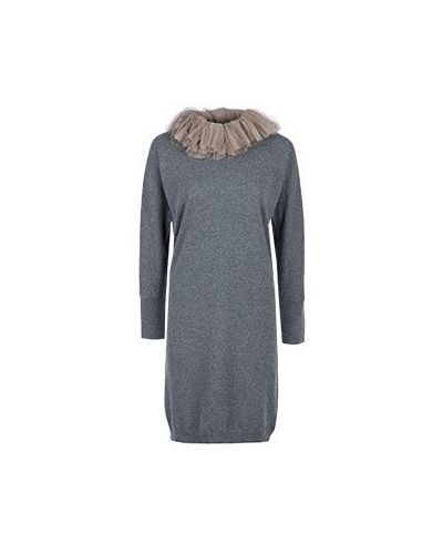 Повседневное платье серое Fabiana Filippi