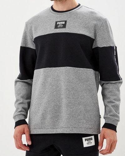 Серый свитшот Puma