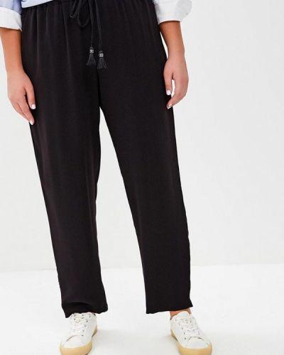 Черные брюки прямые Violeta By Mango
