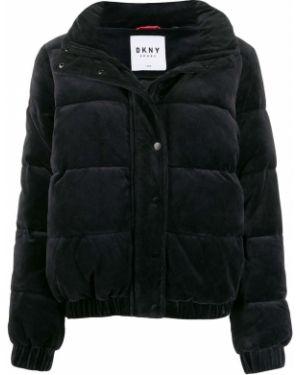 Куртка черная на молнии Dkny