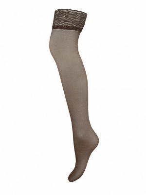Чулки - коричневые Mademoiselle