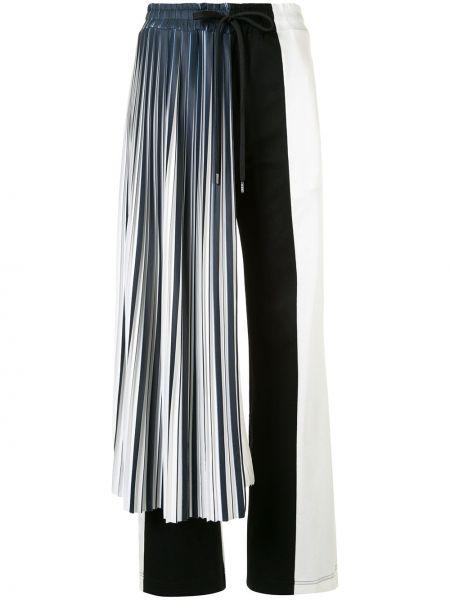 Спортивные белые нейлоновые спортивные брюки с карманами Maison Mihara Yasuhiro