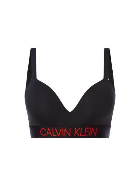 Czarna piżama z haftem Calvin Klein Underwear Plus
