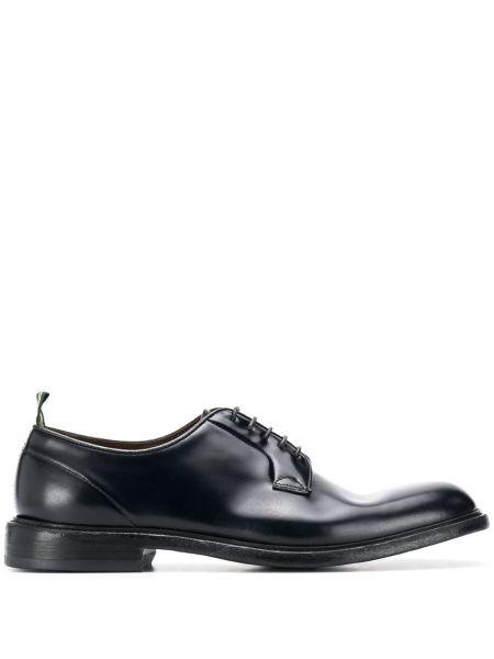 Черные туфли на шнуровке Green George