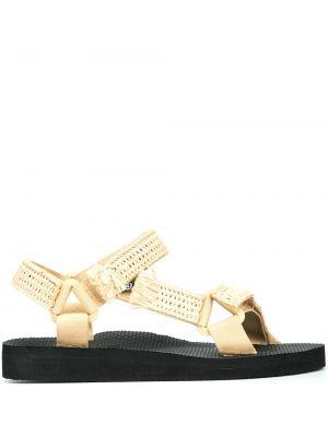 Czarne sandały Arizona Love