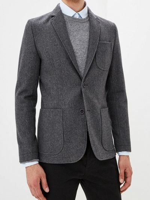 Серый пиджак Bazioni