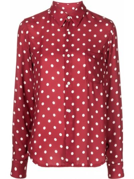 Рубашка классическая - красная Comme Des Garçons Comme Des Garçons