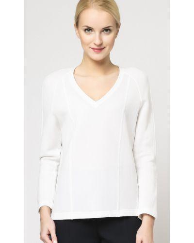 Biała bluzka bawełniana Deni Cler Milano