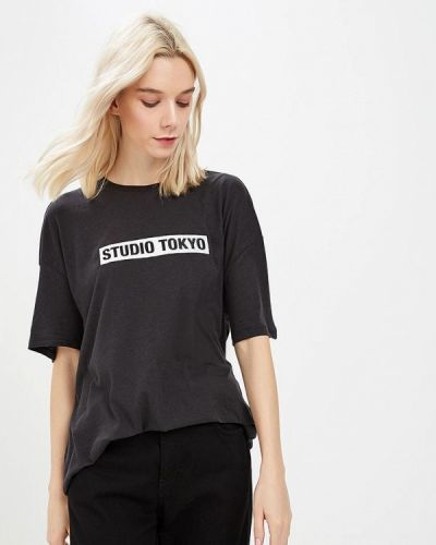 Черная футболка 2019 Zoe Karssen