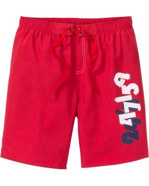 Плавки-боксеры красные с карманами Bonprix