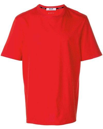 Базовая футболка оверсайз Msgm