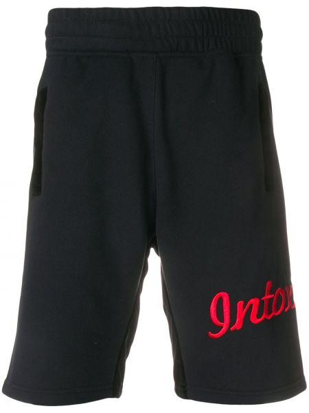 Черные спортивные шорты свободного кроя с поясом Intoxicated