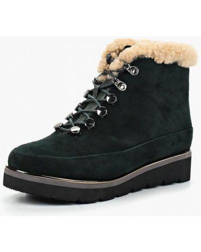 Ботинки осенние зеленые Antonio Biaggi