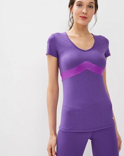 Фиолетовая спортивная футболка Grishko