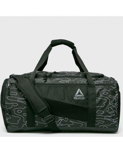 Черная сумка через плечо Reebok