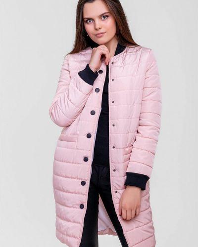 Утепленная куртка - розовая Sfn
