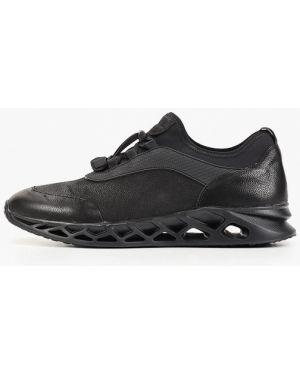 Кроссовки черные низкий Marco Lippi