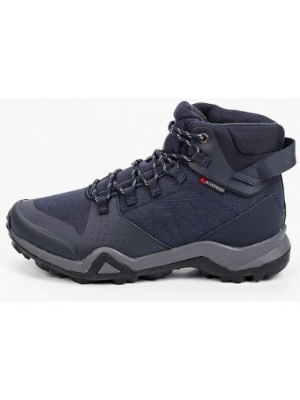 Кожаные высокие кроссовки - синие Strobbs