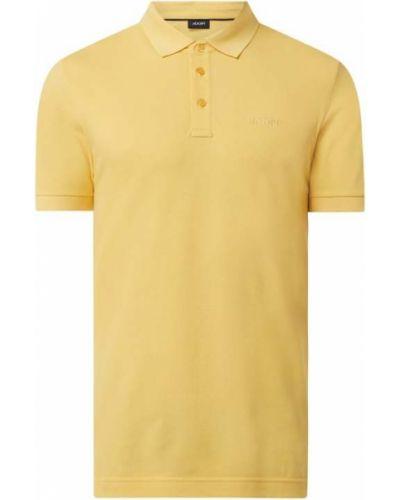 Żółty t-shirt bawełniany Joop! Collection