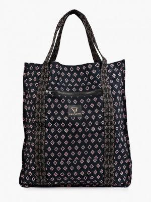 Черная сумка шоппер Brunotti