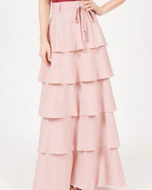 Юбка широкая розовая Marichuell