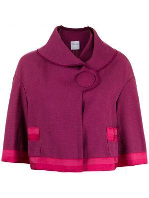 Narzutka bawełniana - fioletowa Valentino Pre-owned