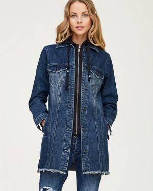 Джинсовая куртка осенняя синий Whitney