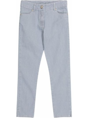 Повседневные хлопковые синие джинсы Tartine Et Chocolat