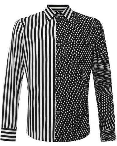 Черная рубашка из вискозы Givenchy