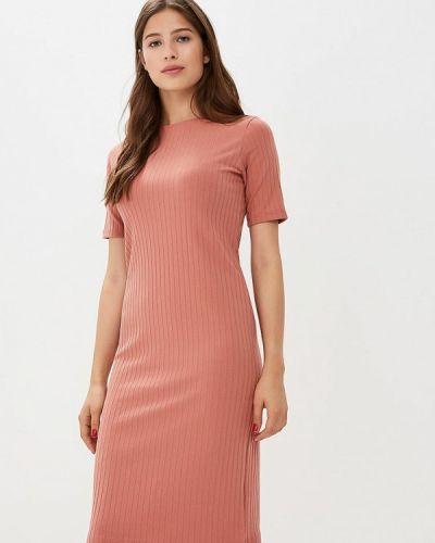 Платье осеннее коралловый Befree