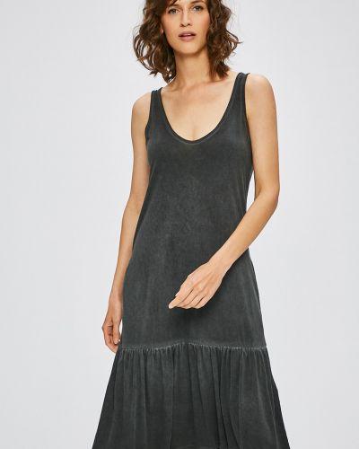 Платье миди из вискозы однотонное Medicine