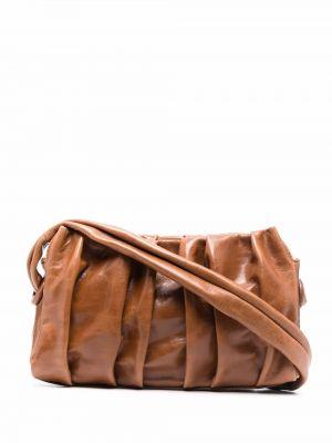 Brązowa torba na ramię vintage Elleme