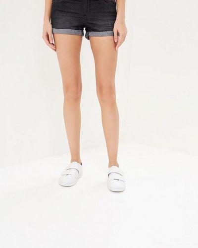 Черные джинсовые шорты Jennyfer