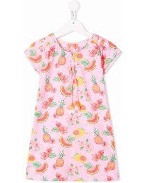 Sukienka bez rękawów prosto ażurowy Sunuva Kids