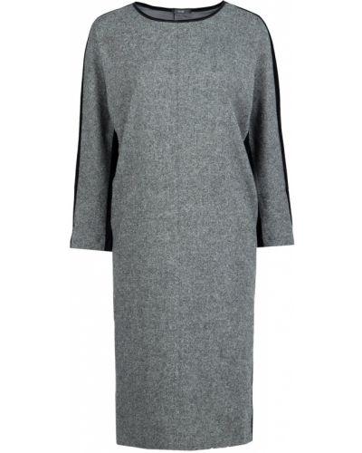 Платье серое со вставками Vuall