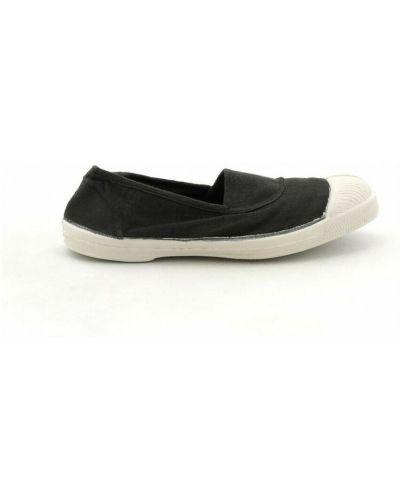 Czarne sneakersy Bensimon