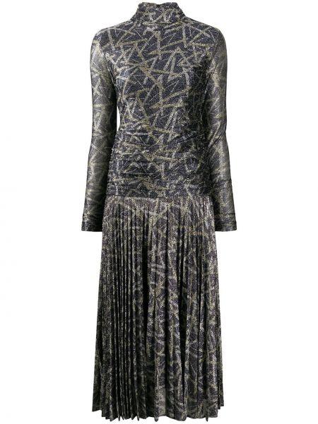 Платье миди на молнии с драпировкой Victoria, Victoria Beckham