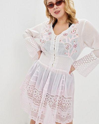 Пляжное платье - розовое Venera