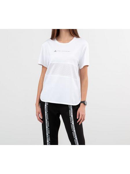 Рубашка свободного кроя белая Adidas Performance