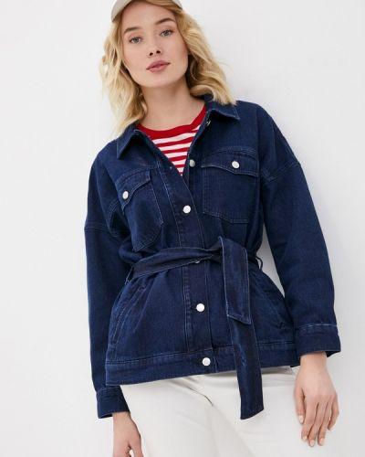 Синяя джинсовая куртка Gant