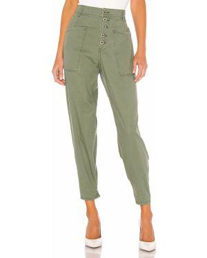 Zielone spodnie bawełniane Pistola