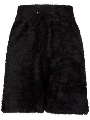 Черные флисовые шорты Frankie's Bikinis