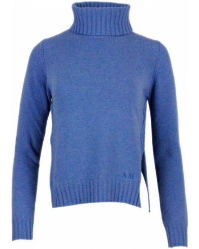 Niebieski sweter Anna Molinari