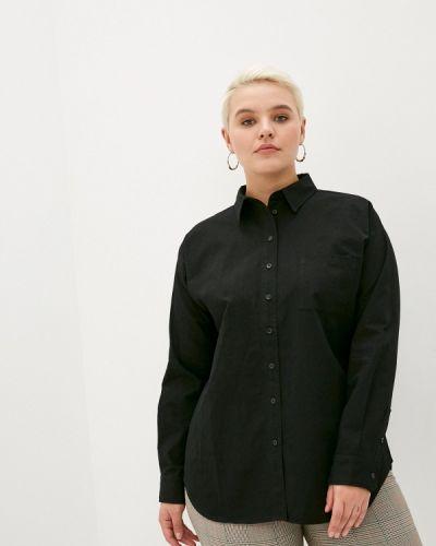 С рукавами черная рубашка Studio Untold